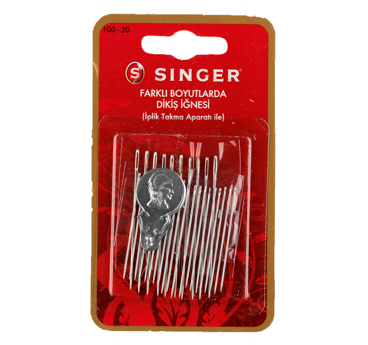 SINGER 100-20 ASSORTED NEEDLES