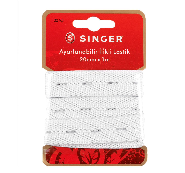 SINGER 100-95 AYARLANABİLİR İLİKLİ LASTİK