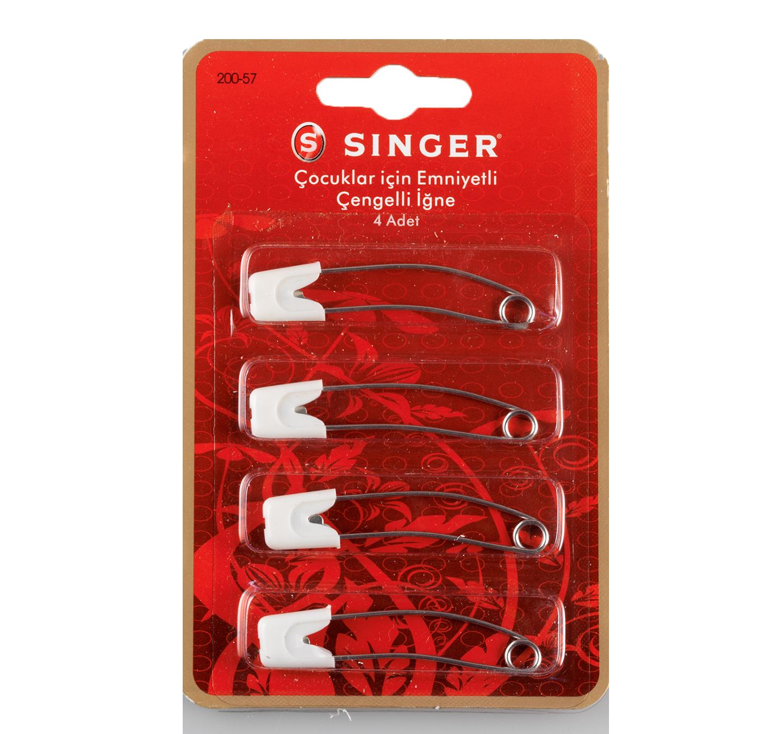 SINGER 200-57 HEAD LOCK SAFETY PINS