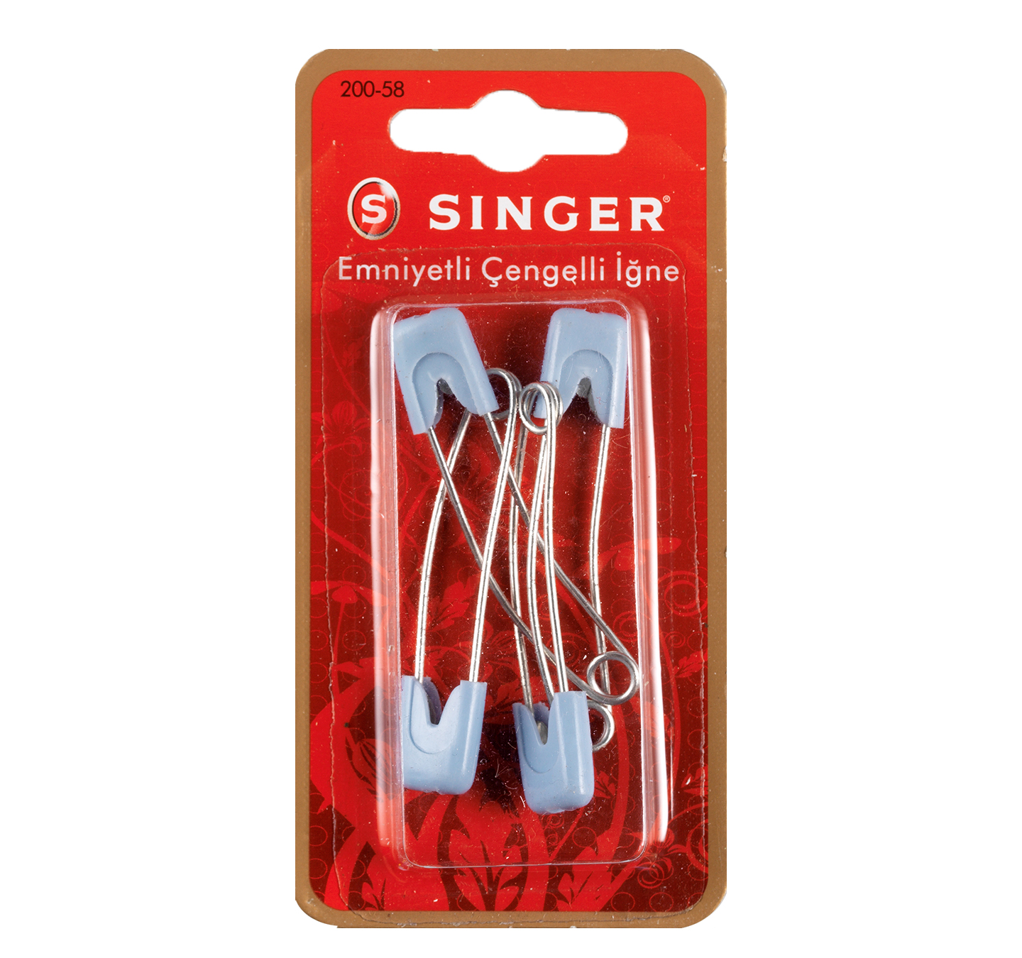 SINGER 200-58 HEAD LOCK SAFETY PINS