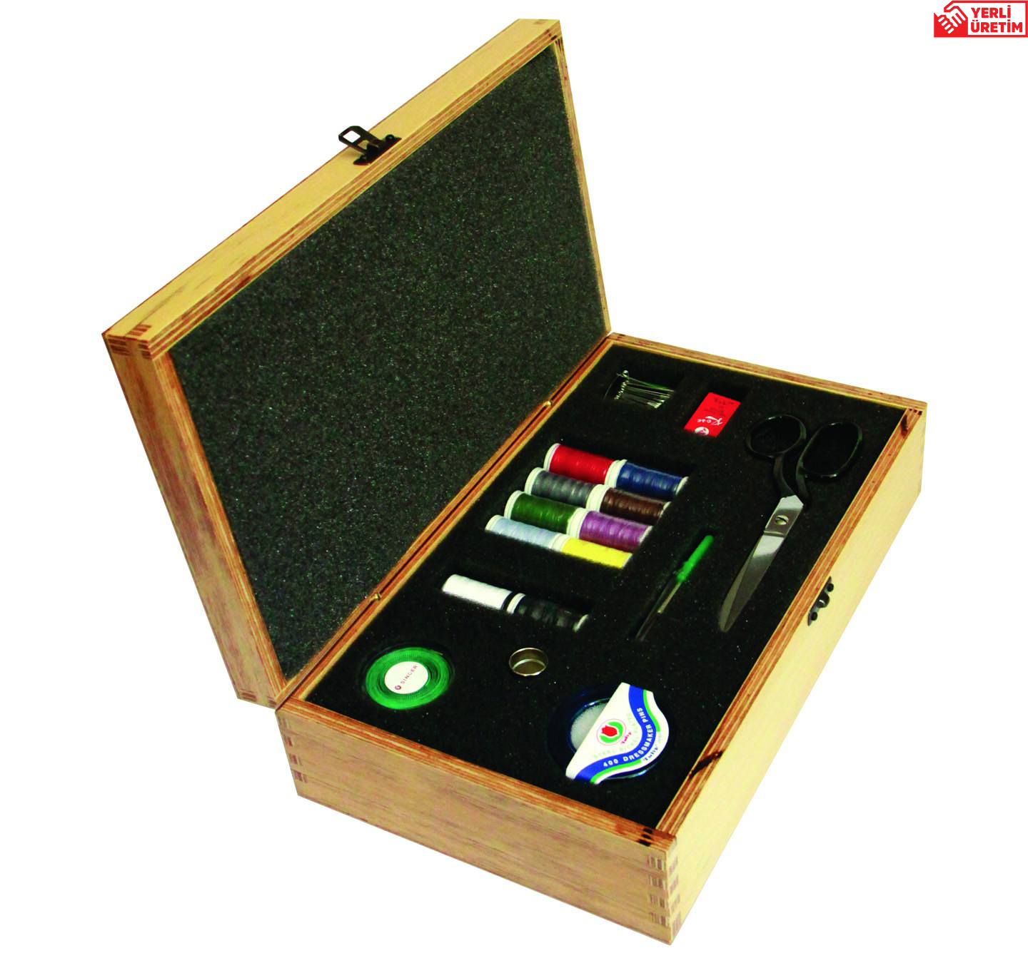 SINGER DS - 05 WOODEN SEWING KIT