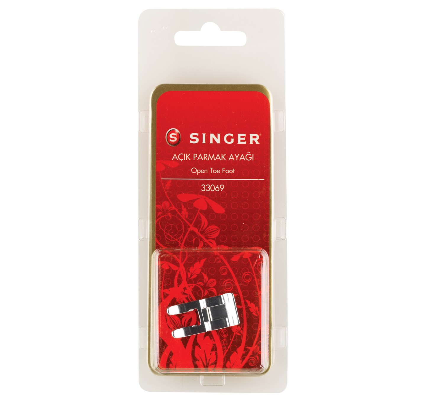 SINGER OPEN TOE FOOT - 33069-BLS