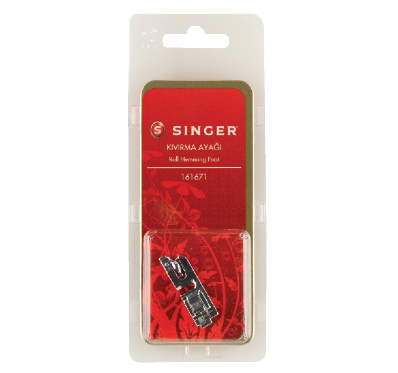SINGER ROLL HEMMING FOOT - 161671-BLS